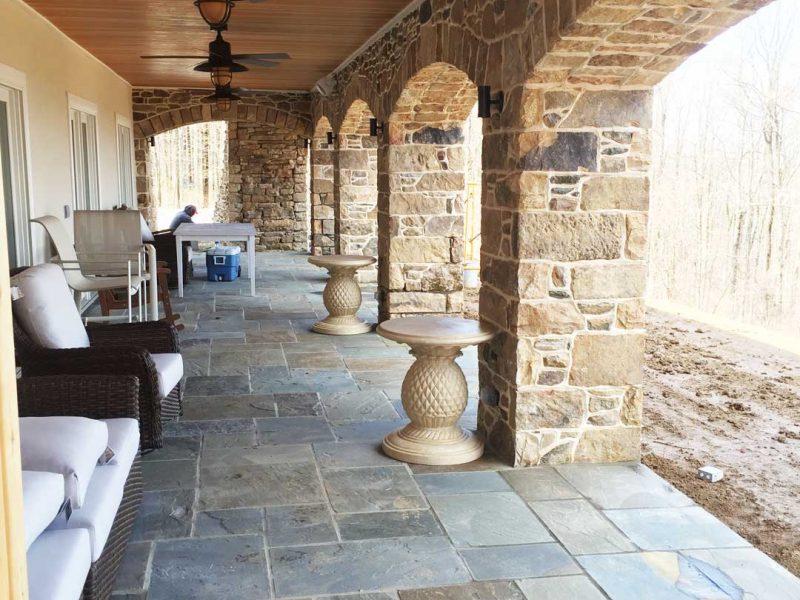 Entrance Walls And Columns Loudoun County Kelley S Masonry