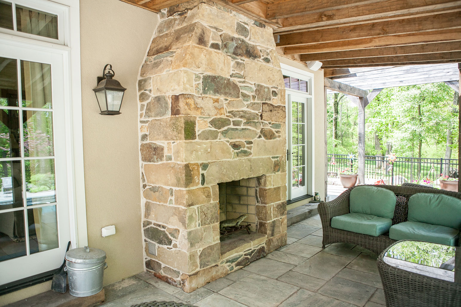 Fireplaces: Stone, Brick and More
