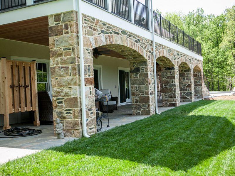 Stone Arches & Columns - Kelley's Masonry