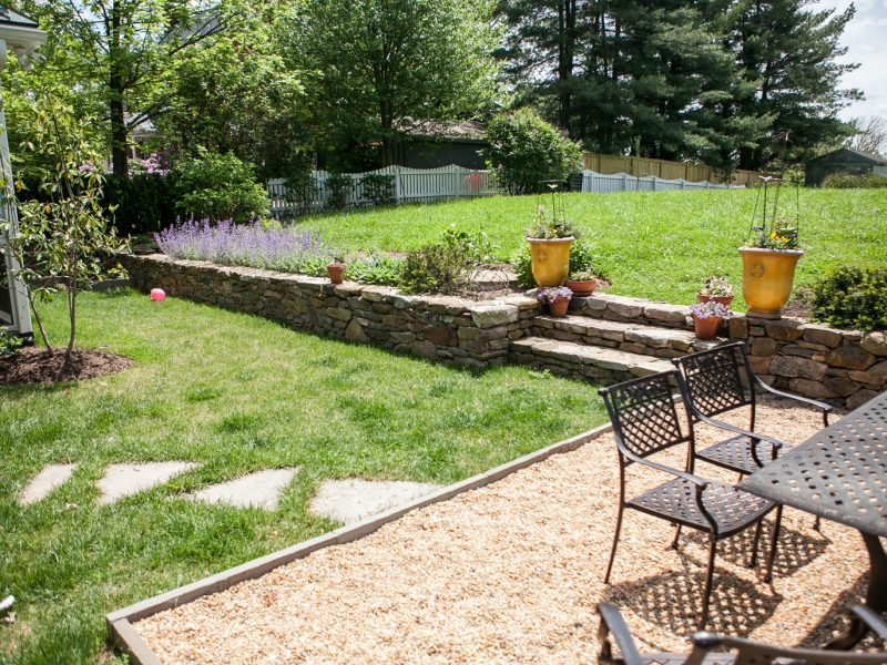 Stone Steps & Steppers - Kelley's Masonry