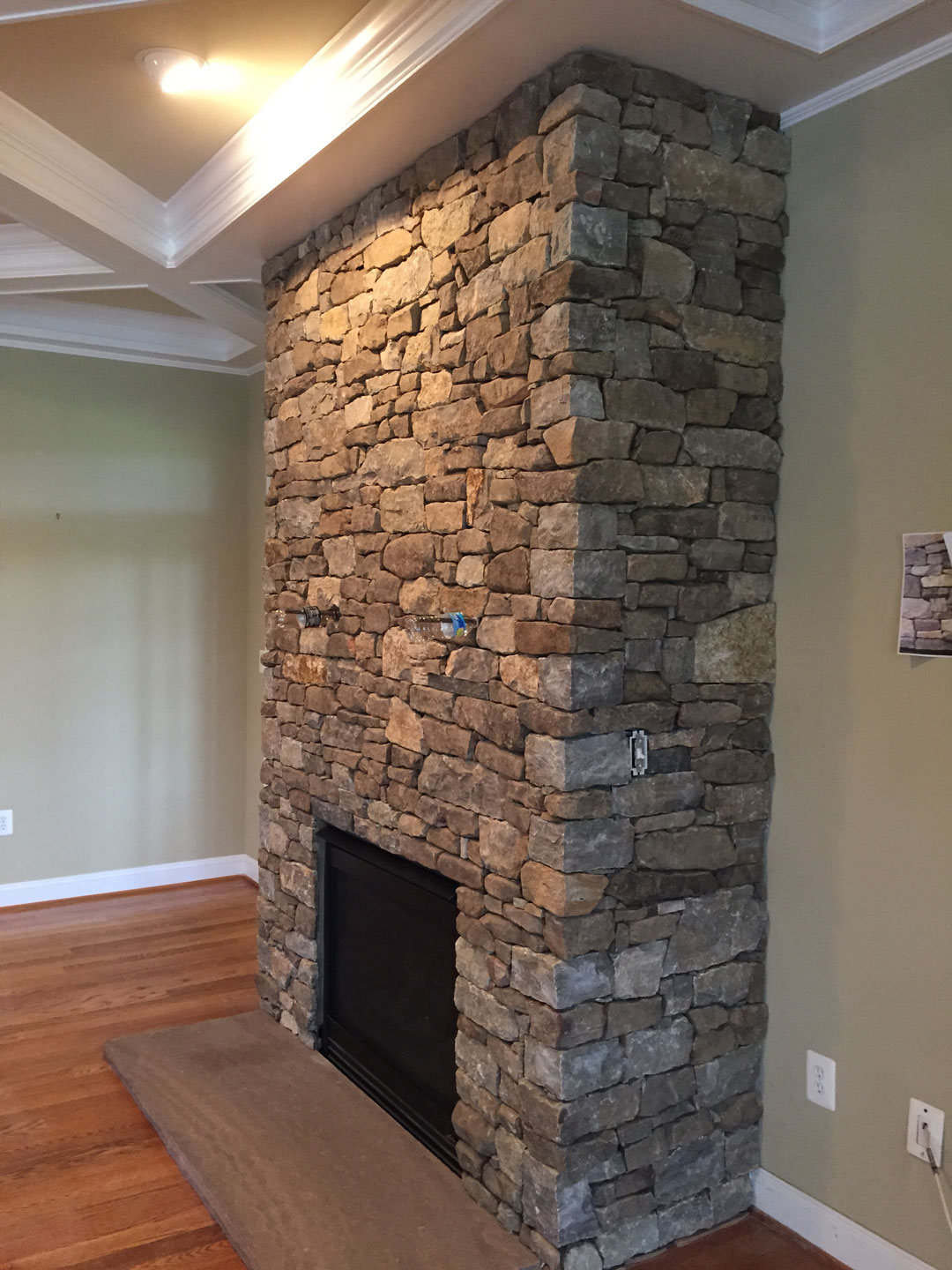 Masonry fireplaces loudoun county kelley 39 s masonry for Brick and stone veneer
