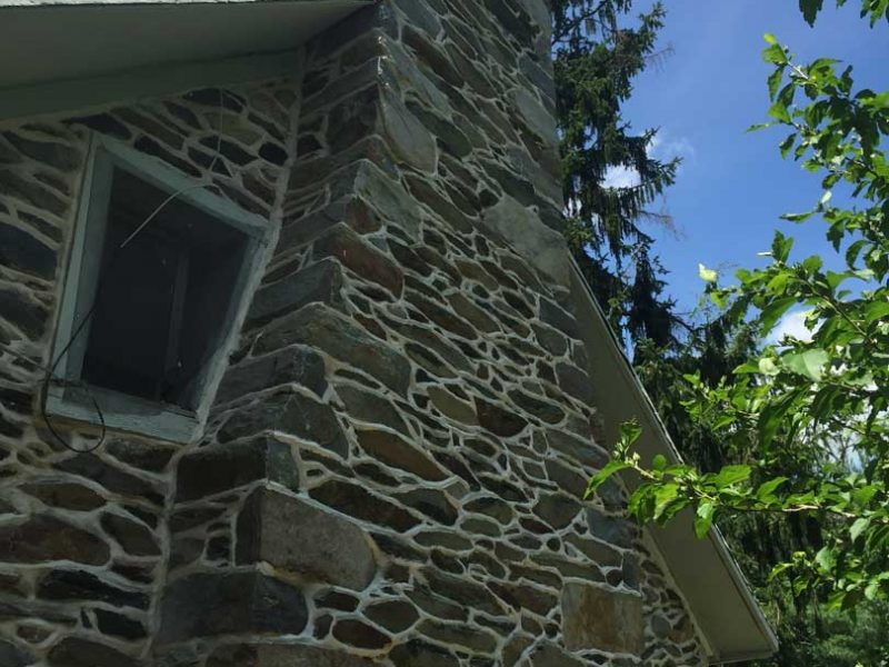 Chimney Stone Restoration - Kelley's Masonry