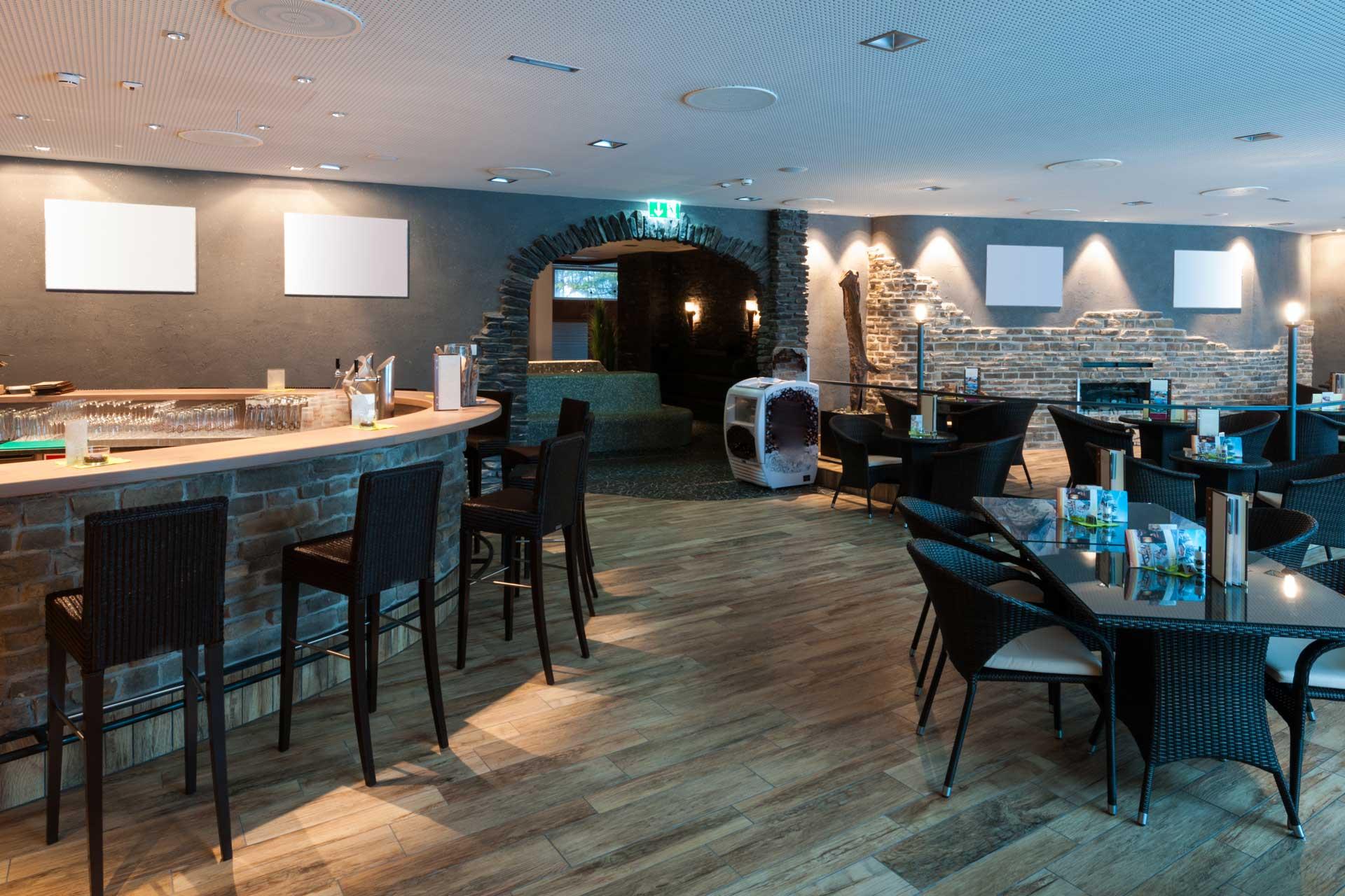 Stone bar room