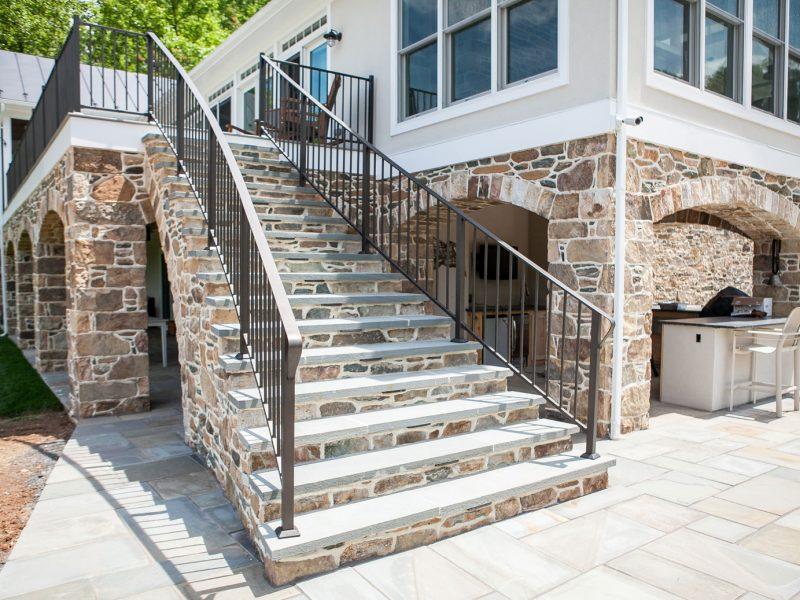 Stone Patios, Arches, Steps, & Columns - Kelley's Masonry
