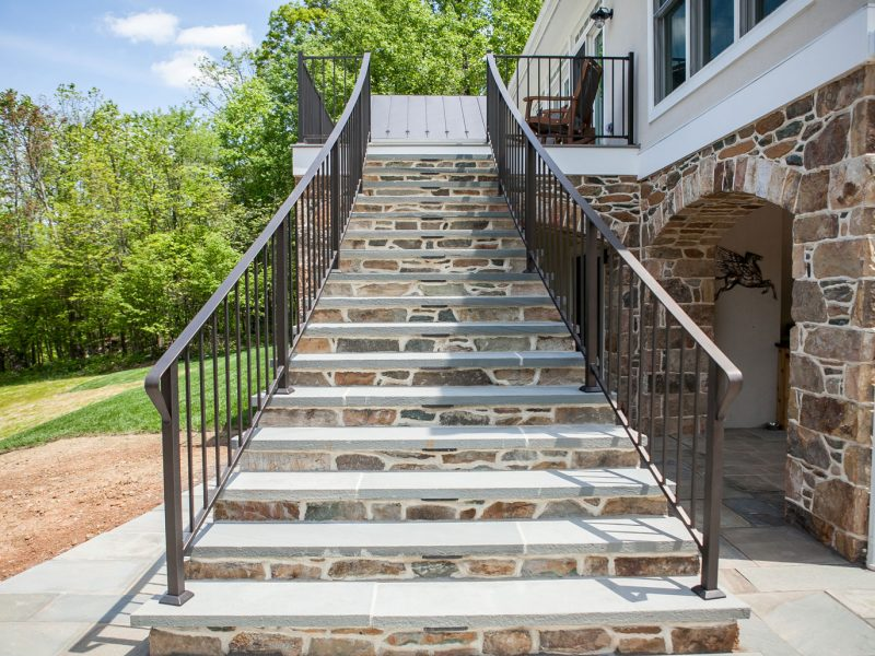 Stone Arches, Steps, & Columns - Kelley's Masonry