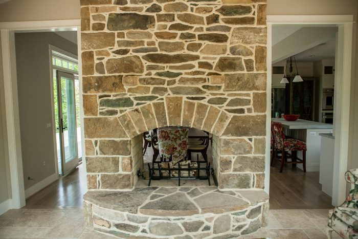 See Through Masonry Fireplaces - Kelley's Masonry