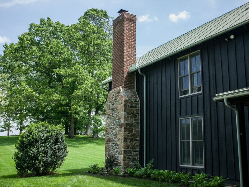 Stone & Brick Chimney - Kelley's Masonry