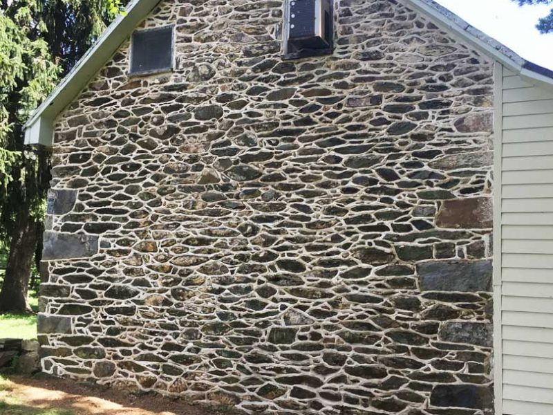Stone Repointing Restoration - After